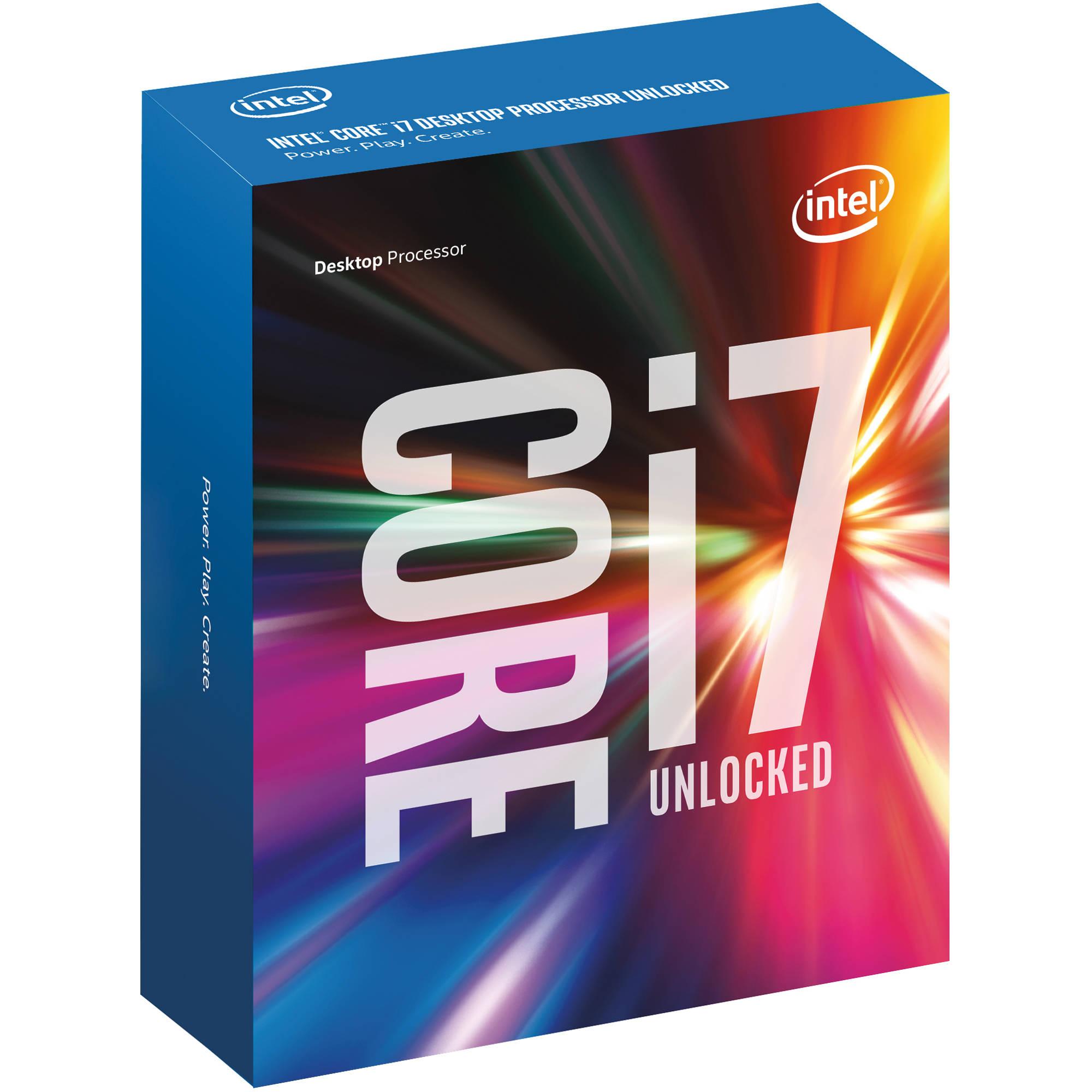 Intel Core i7-6700K Processor  (8M Cache, 4.20 GHz)