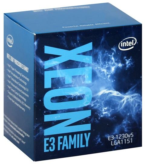 Intel Xeon Processor E3-1230 v5  (8M Cache, 3.40 GHz)
