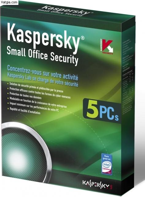 Kaspersky KSOS 1 Server + 5PC
