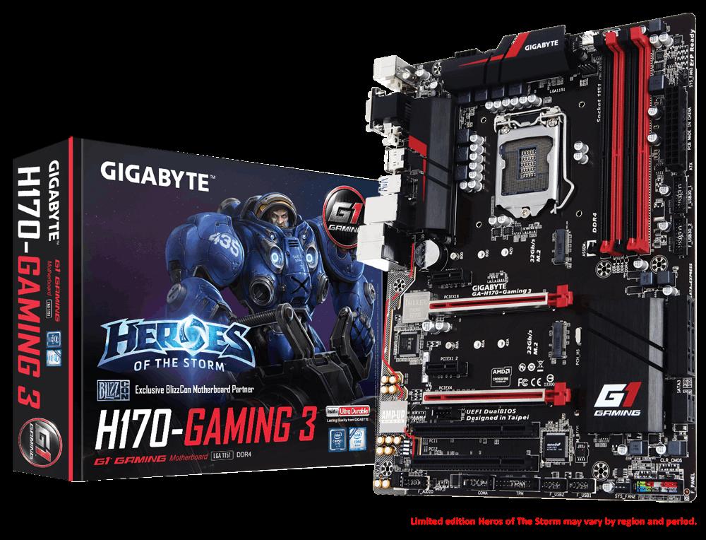 Main Gigabyte GA-H170-Gaming 3, Socket 1151 (GA-H170-Gaming 3)