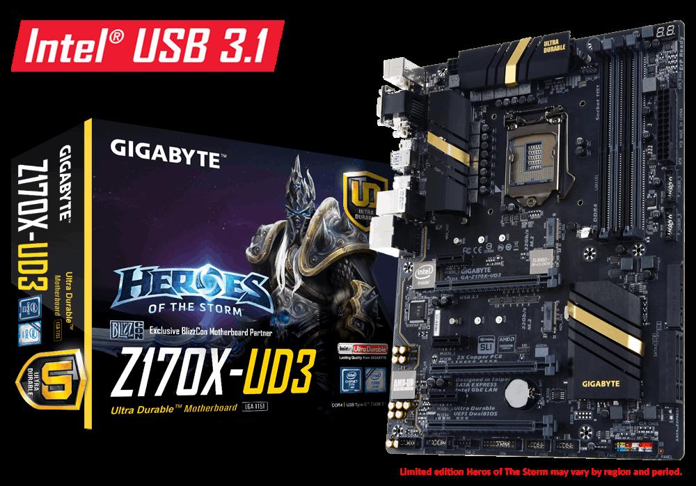 Main Gigabyte GA-Z170X-UD3, Socket 1511 (GA-Z170X-UD3)