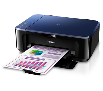 Máy in Canon PIXMA E560, In, Scan, Copy, Wifi, In phun màu