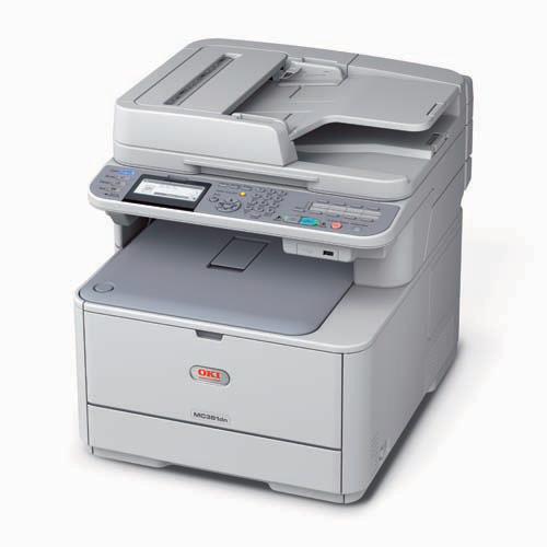 Máy in Oki MC362dn, Duplex, Network, In, Scan, Copy, Fax, Laser màu