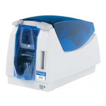 Máy in thẻ Datacard SP25 Plus, in màu một mặt có mã hóa từ