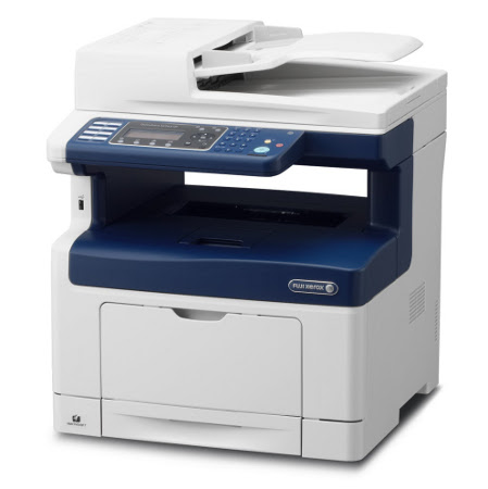 Máy in Xerox DocuPrint M455df, In, Scan, Copy, Fax, Network, Duplex, Laser trắng đen