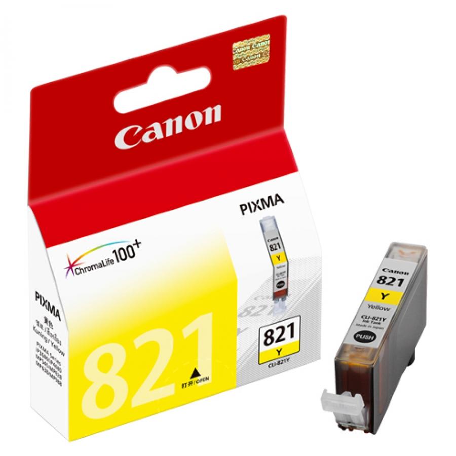 Mực in Canon CLI 821 Yellow Ink Tank