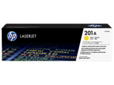 Mực in chính hãng Laser màu vàng HP 201A Yellow Original LaserJet Toner Cartridge (CF402A)
