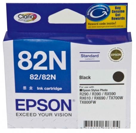 Mực in Epson 82N Black Ink Cartridge (T112190)