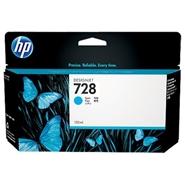Mực in HP 728 130-ml Cyan DesignJet Ink Cartridge (F9J67A)