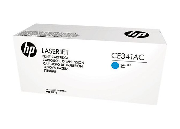 Mực in HP CE341AC Cyan Original Laserjet Toner Cartridge (CE341AC)