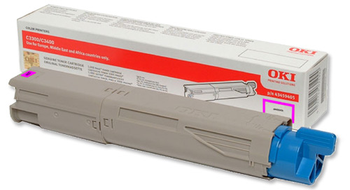 Mực in Oki C3300n/C3400n/C3600n Magenta Toner Cartridge (43459454)