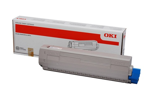 Mực in Oki C831 Yellow Toner Cartridge
