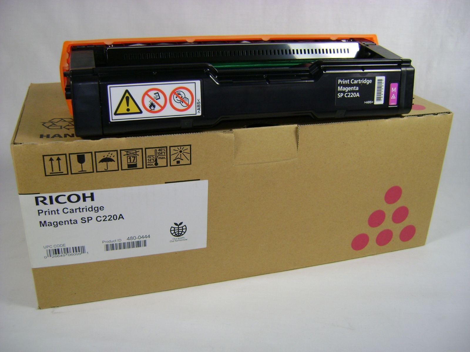 Mực in Ricoh C220S Magenta Toner Cartridge (406061)
