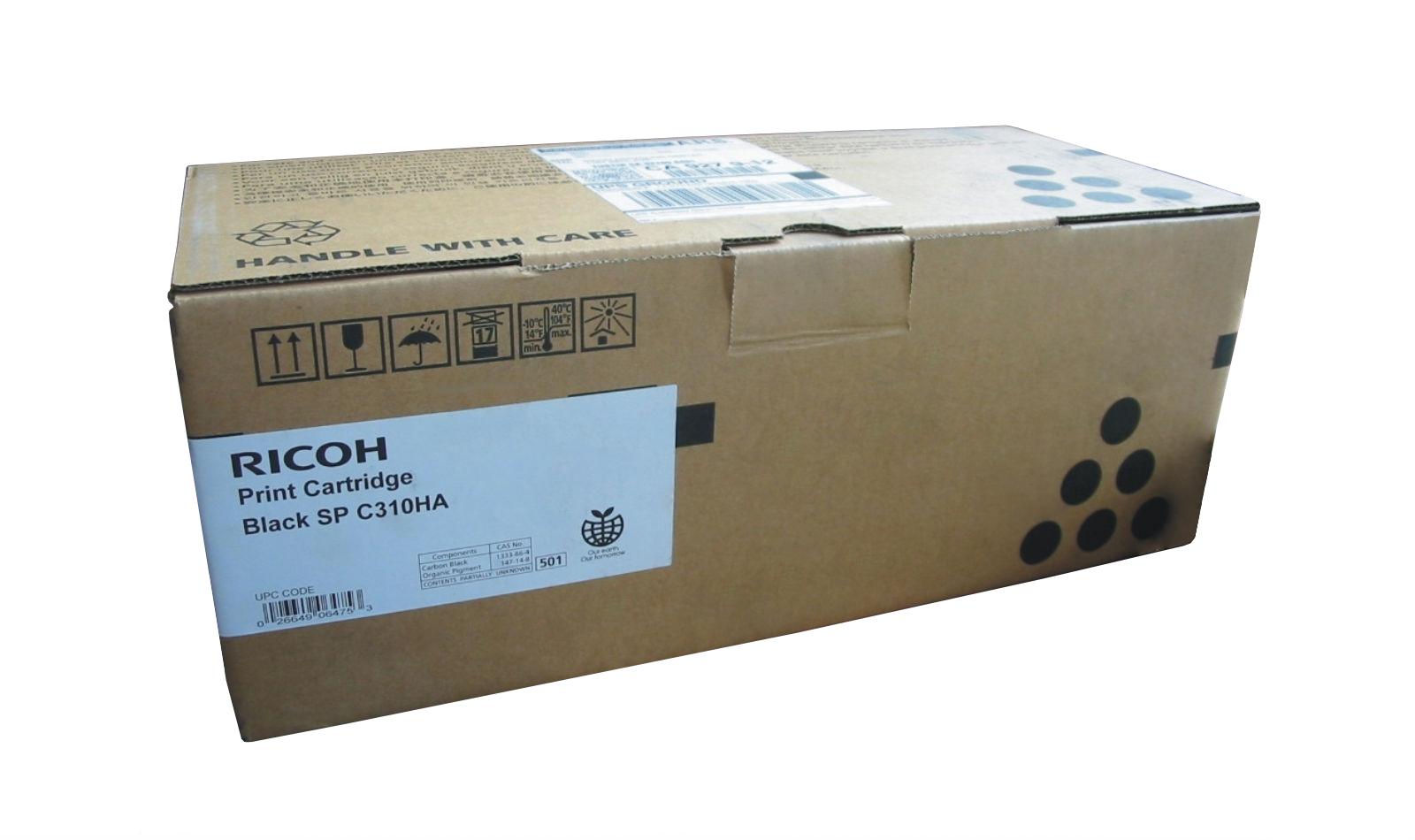 Mực in Ricoh C310S Yellow Toner Cartridge