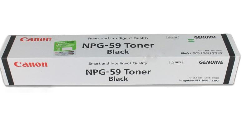 Mực photocopy Canon NPG-59, Black Toner Cartridge (NPG59)