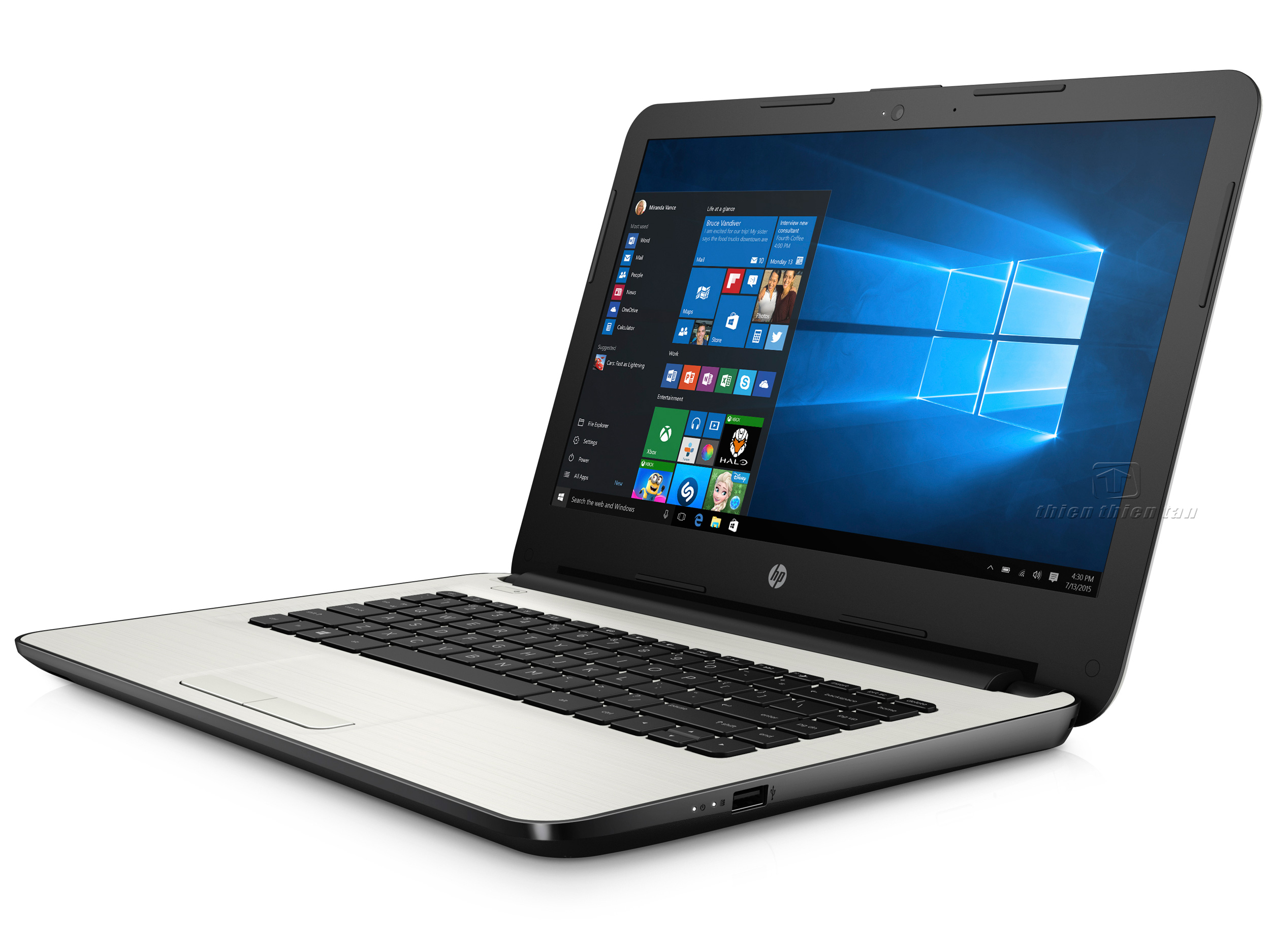 Laptop HP Core i5 14-am056TU X1H03PA (Silver)