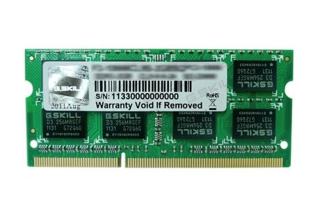 DDR3 4GB (1600) G.Skill F3-12800CL11S-4GBSQ