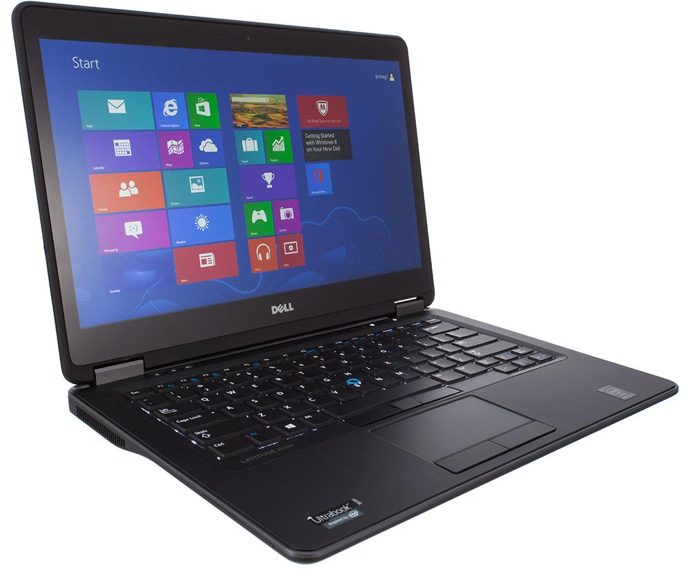 "Laptop Latitude E7450-6884 Ultrabook: i5-5300U 2.3Ghz/8GB/256GB SSD/14"" (Đen)"