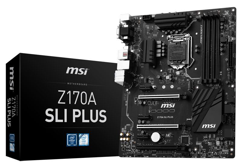 Mainboard MSI Z170A SLI PLUS Socket 1151 (Z170A SLI PLUS)