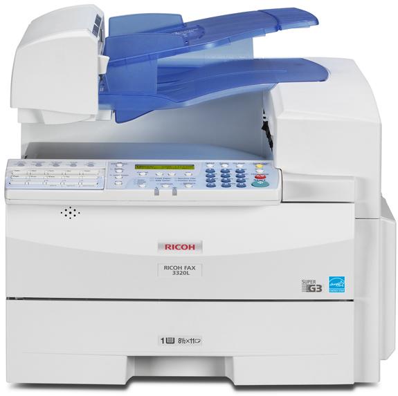 Máy Fax Ricoh 3320L, Laser trắng đen