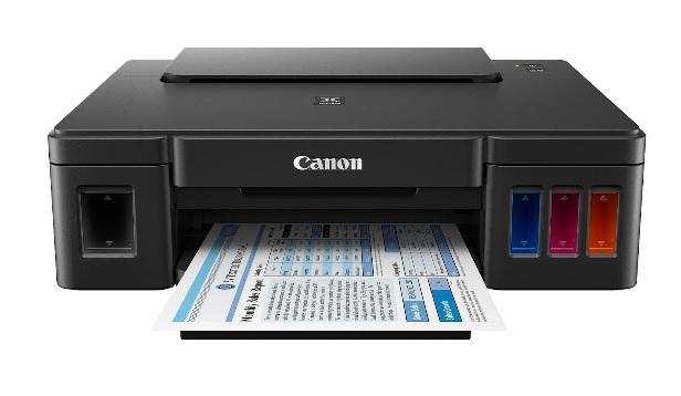 Máy in Canon PIXMA G1000, in phun màu tiếp mực ngoài chính hãng