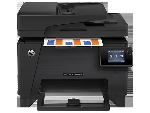 Máy in HP Color LaserJet Pro MFP M177fw (CZ165A)