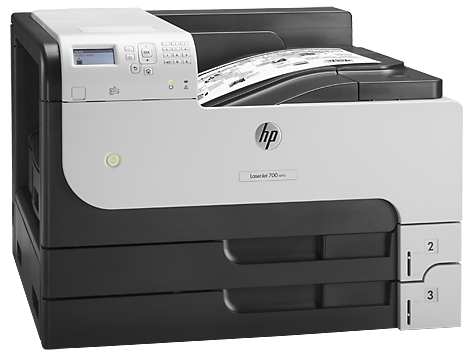 Máy in HP LaserJet Enterprise M712n, Laser trắng đen khổ A3 (CF235A)