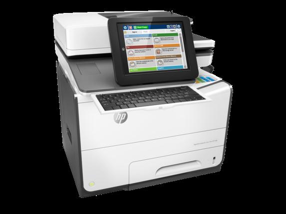 Máy in HP PageWide Enterprise Color Flow MFP 586z (G1W41A)