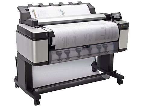 Máy in khổ lớn HP Designjet T3500 914mm Production eMFP (B9E24B)