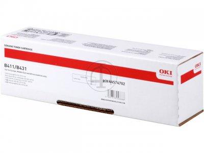 Mực in Oki B491 Laser trắng đen