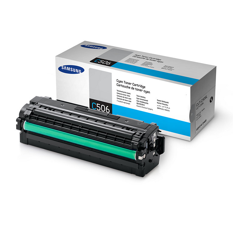 Mực in Samsung CLT-C506L Cyan Toner (3,500 pages)