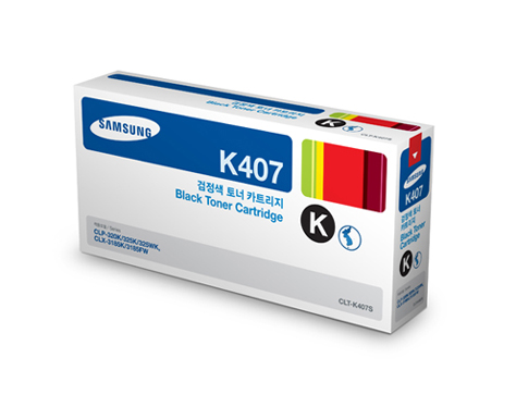 Mực in Samsung CLT-K407S Black Toner Cartridge