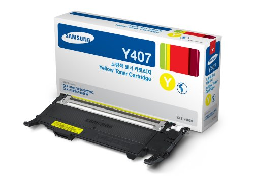 Mực in Samsung CLT-Y407S Yellow Toner Cartridge