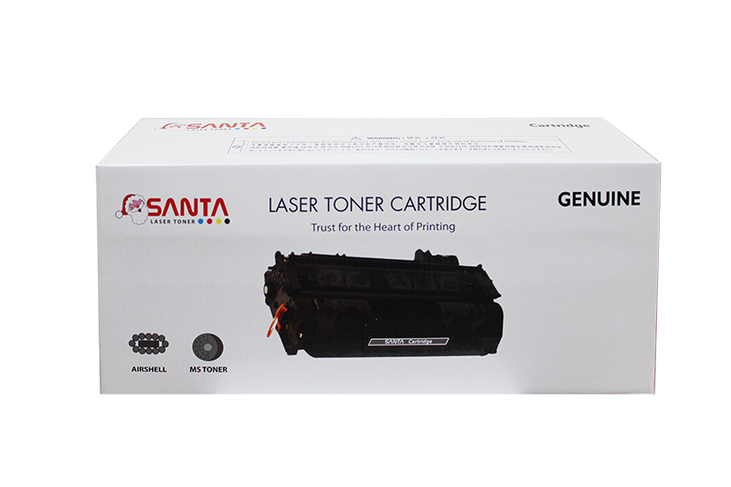Mực in Santa 125A Cyan LaserJet Toner Cartridge