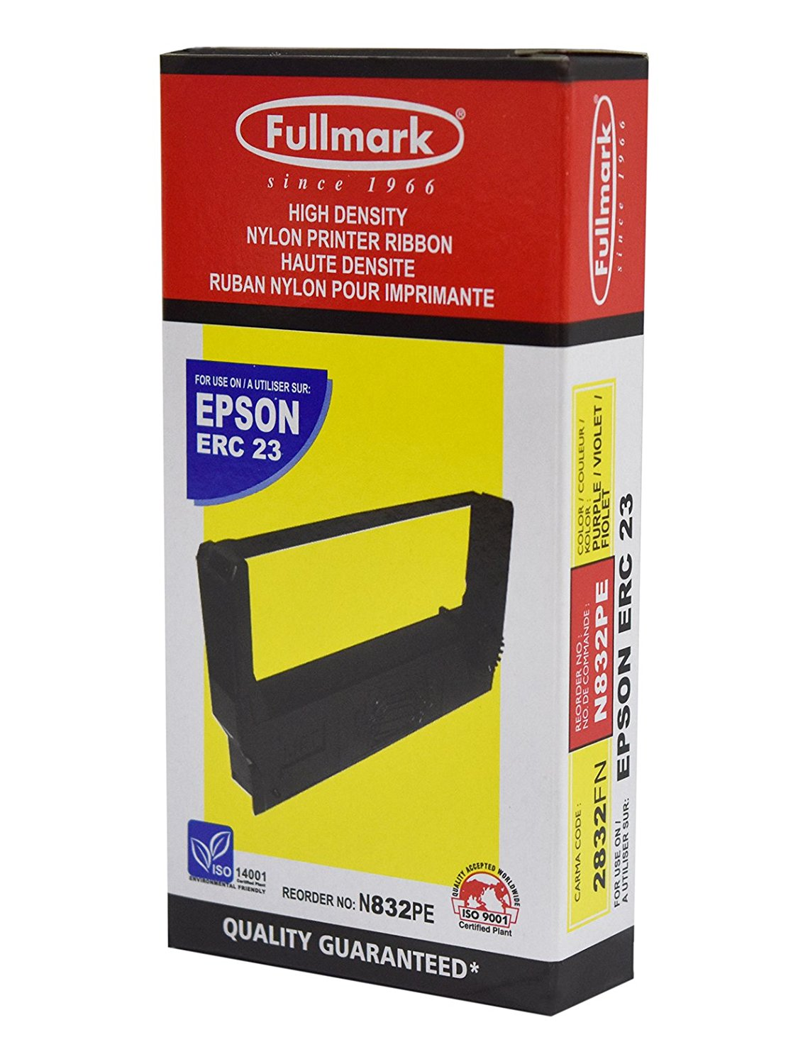 Ruy băng Fullmark ERC-23 Black Ribbon Cartridge (N823BK)